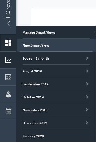 Neues Smart View erstellen