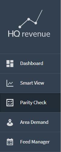 Parity Check app menu selection