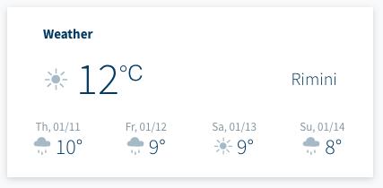 Weather Info Dashboard